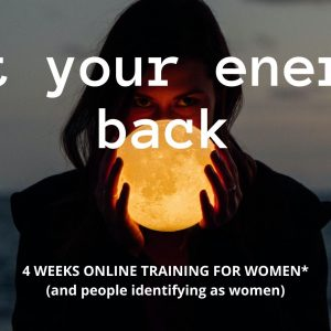 Get your energy back! training