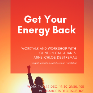 Get Your Energy Back – Work-Talk